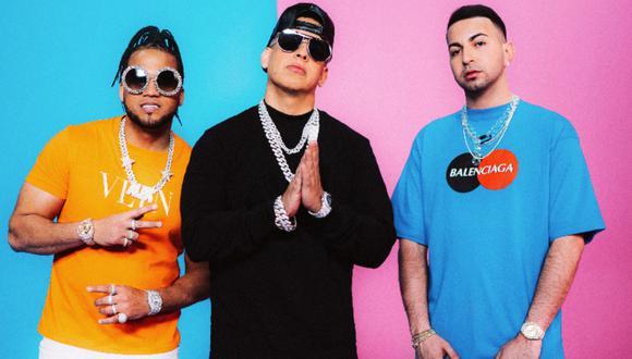 Daddy Yankee presentó su nueva colaboración con Justin Quiles y El Alfa. (Foto: Warner Music)