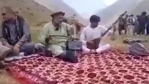 El cantante Fawad Andarabi fue asesinado por los talibanes. (Twitter).