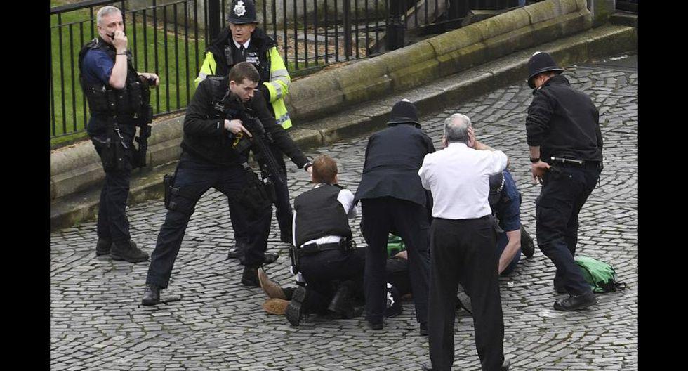 Las fotos del terrorista del atentado en Londres - 1