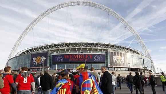 Perú-Inglaterra en Wembley, un mágico estadio lleno de historia