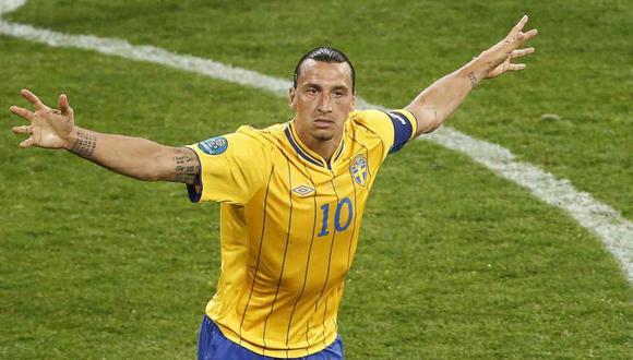 Zlatan Ibrahimovic vuelve a la lista de la seleccón sueca cinco años después. (Foto: AFP)