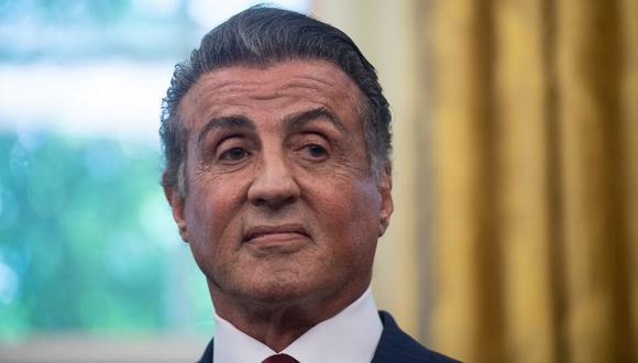 """El actor Sylvester Stallone está a la espera del estreno de la cinta """"Creed 2"""". (Foto: AFP)"""