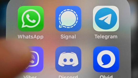 la guerra entre las aplicaciones de mensajería continua. La migración masiva de usuarios de WhatsApp a Telegram se ha traducido en millones. (Foto: AFP)