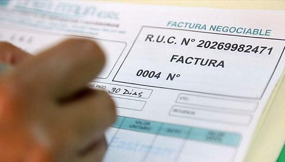 Operaciones con factura negociable suman S/ 85.3 mlls. en abril