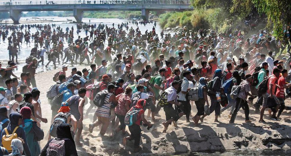 Miles de migrantes centroamericanos, en su mayoría hondureños, han viajado en caravanas con la esperanza de llegar a Estados Unidos. Muchas familias fueron separadas. (Foto: AFP / Johan Ordoñez)