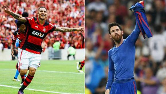Paolo Guerrero es comparado con Messi por medio brasileño