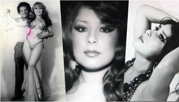 Monique en todo su esplendor. Entre las décadas del 70 y 80 fue una de las modelos y bailarinas más cotizadas.
