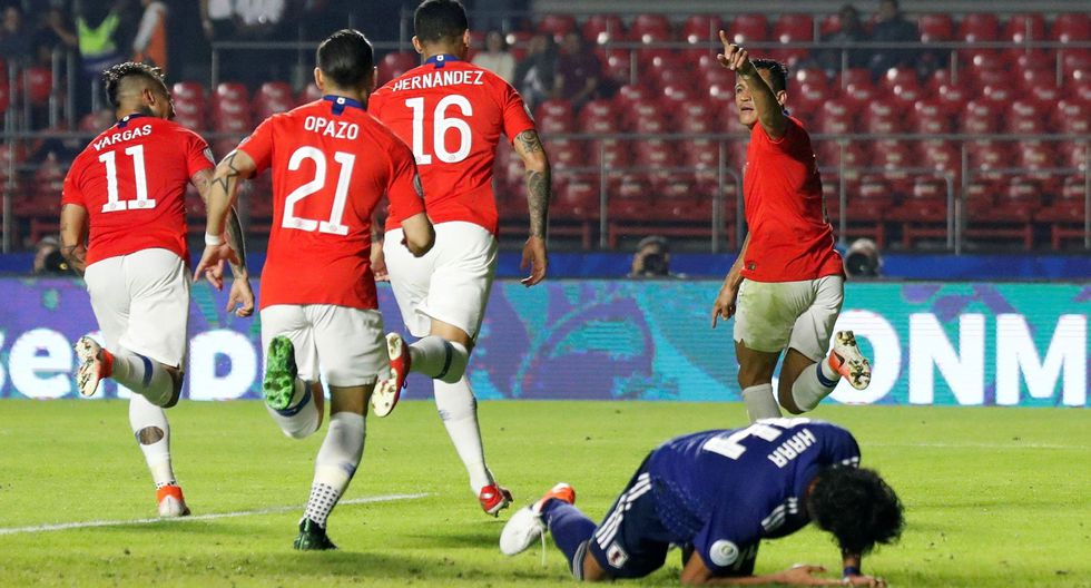 Chile vs. Japón por el Grupo C de Copa América Brasil 2019 en el Estadio Morumbí. (Foto: AFP)