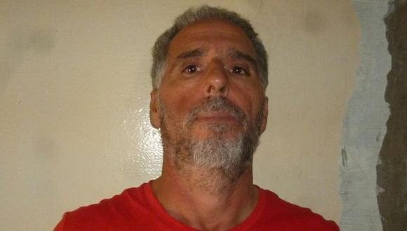 Imagen del folleto difundido por el Ministerio del Interior de Uruguay el 24 de junio de 2019, que muestra al italiano Rocco Morabito, buscado durante más de 20 años por tráfico de drogas y actividades mafiosas, durante su arresto en Uruguay. (Foto: AFP / URUGUAY'S INTERIOR MINISTRY).