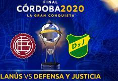 Lanús vs. Defensa y Justicia: canales y horarios de la final de HOY por la Copa Sudamericana
