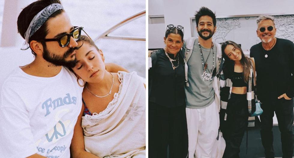El cantante Camilo Echeverry se casó hace dos meses con Evaluna Montaner. Ahora está a punto de acabar su nuevo disco. (@camilomusica / @ricardomontaner)