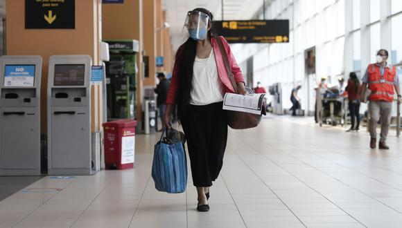 Gobierno anunció que se suspendieron todos los vuelos hacia Arequipa desde el 21 de junio hasta el 5 de julio.  (Foto: GEC )