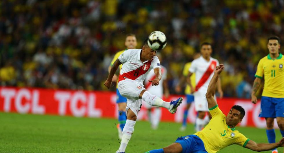 Perú vs. Brasil en la final de la Copa América 2019. (foto: Agencia)