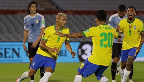 Brasil se hizo fuerte en tierras uruguayas y se llevó los tres puntos del Centenario. (Agencias)