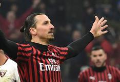 AC Milan reveló que Zlatan Ibrahimovic tiene coronavirus