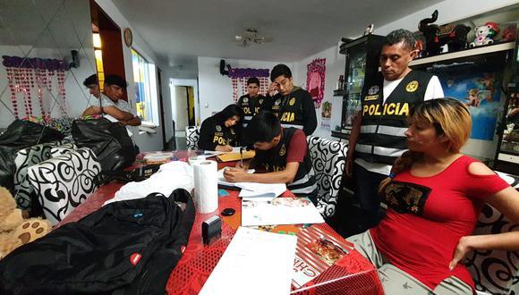 Tras meses de trabajo de inteligencia, la División Contra la Trata De Personas y el Tráfico Ilícito de Migrantes capturó el domingo 19 de enero a 4 personas y salvó a otras 22 mujeres (Foto: Difusión).