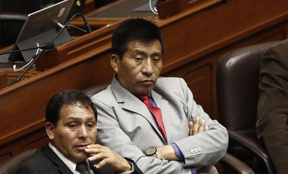 El congresista de Fuerza Popular Moisés Mamani fue denunciado ante la policía por los presuntos tocamientos indebidos. (Foto: USI)