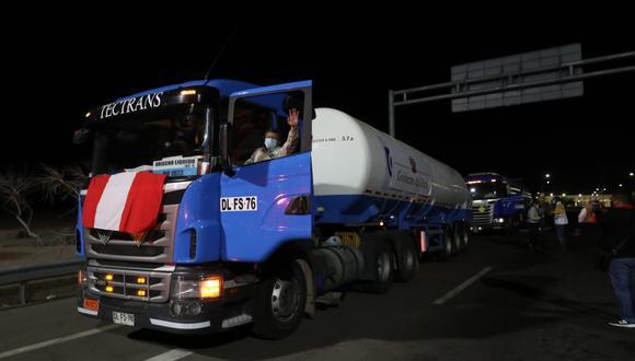 Por otro lado, la titular de Defensa comentó que las 960 toneladas importadas por el Estado van a ir llegando al país de manera periódica, debido a 40 toneladas por semana. (Foto: Mindef)