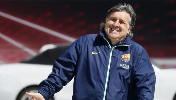 El 'Tata' Martino asegura que cumplirá su contrato con el Barza