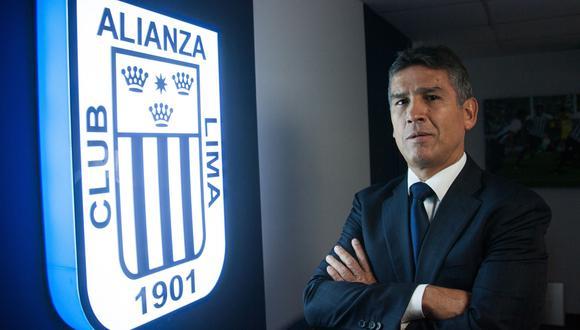 Renzo Ratto apoya que el estadio de Alianza pueda llevar el nombre de un sponsor. (Foto: Eduardo Cavero / GEC)