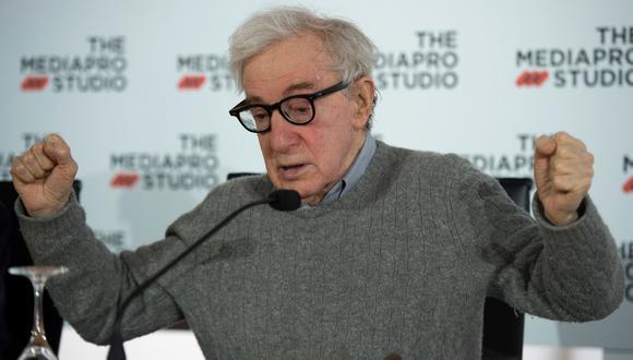 Woody Allen, durante una conferencia de prensa en la ciudad de San Sebastian, en julio de 2019. (Foto: AFP / Ander Gillenea)