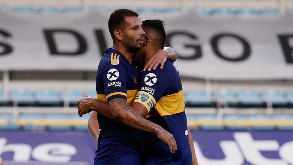 Boca Juniors enfrentó a Huracán por la Copa Diego Maradona