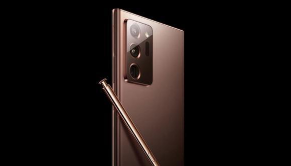 Así luce el Galaxy Note 20 Ultra de acuerdo a las imágenes filtradas por el sitio oficial de Samsung en Rusia, que podría salir a la venta sin un cargador, algo que también planea Apple con el lanzamiento de sus nuevos iPhone en septiembre. (Difusión)