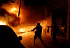 """El presidente regional de Cataluña pide """"detener ahora mismo"""" los disturbios"""
