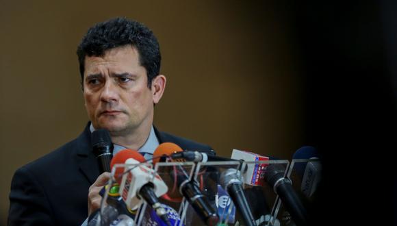 Sergio Moro, actual ministro de Justicia de Brasil, habría coordinado con los fiscales para perjudicar a Lula da Silva en uno de sus juicios. (AFP).