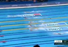 Tokio 2020: Joaquín Vargas terminó en tercer lugar en su serie de 200 metros libres y se despide de los Juegos Olímpicos VIDEO