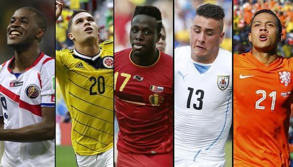 Brasil 2014: cinco jugadores a tomar en cuenta en octavos