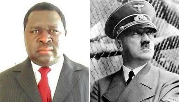 Adolf Hitler Uunona alcanzó una fama singular en las redes por llevar el mismo nombre del dictador de origen austrohúngaro que desencadenó la Segunda Guerra Mundial. (Foto: @EagleFMNam | Getty)