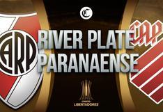 River Plate vs. Paranaense: horarios y canales para ver EN DIRECTO partido por Copa Libertadores
