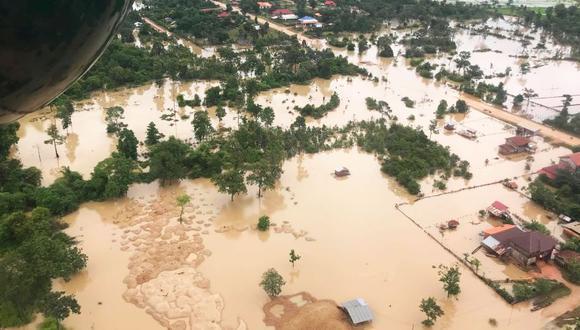 Laos: Ruptura de represa dejó al menos 26 muertos y 131 desaparecidos. (Foto: Reuters)