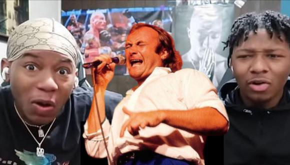 Phil Collins volvió a trepar las listas musicales gracias al video viral de la reacción de unos gemelos youtubers a uno de sus éxitos. | Crédito: Twinsthenewtrend / YouTube.
