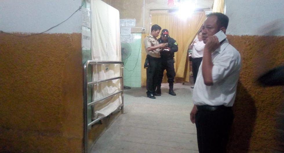 El primer regidor Ángel López, encargado de la alcaldía del distrito de San Juan Bautista, fue atacado este viernes por dos personas a bordo de una moto cuando se dirigía a su vivienda. (Foto: Daniel Carbajal).