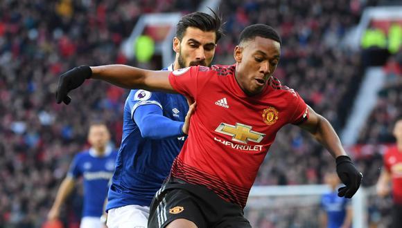 Manchester United vs. Everton (11:00 a.m. EN VIVO ONLINE vía DirecTV Sports) juegan en el estadio Old Trafford por la Premier League   Fecha 10°. (Foto: AP)