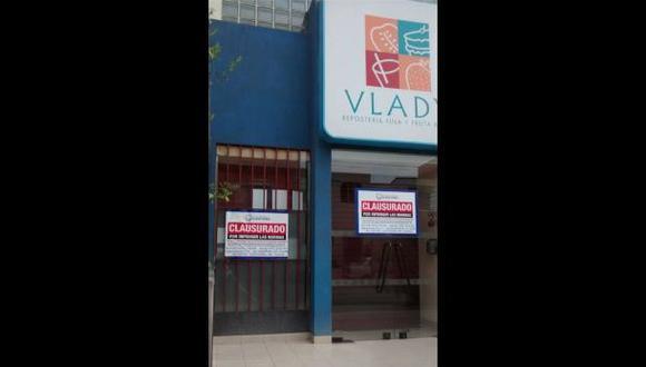 Tortas Vlady: clausuran local de Miraflores por insalubridad
