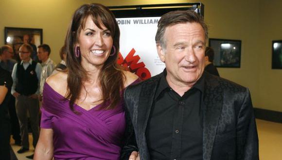 """Esposa de Robin Williams: """"Perdí a mi esposo y mi mejor amigo"""""""