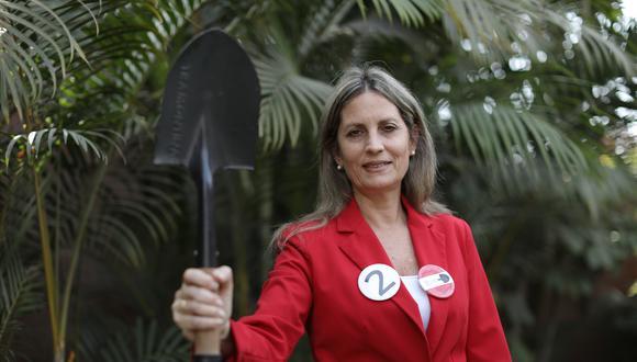 María del Carmen Alva Prieto es candidata al Congreso por Acción Popular. (Foto: GEC)