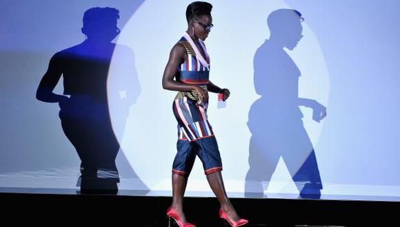 Lupita Nyong'o en la lista de los mejor vestidos de Vanity Fair