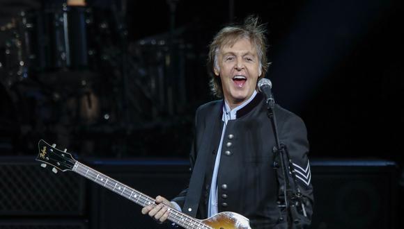 Paul McCartney junto a diversos artistas británicos piden una reforma en las leyes del streaming. (Foto: AFP/KAMIL KRZACZYNSKI)