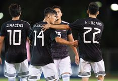 México vs. Bermudas: 'Chucky' Lozano y el magistral pase entre líneas para el notable gol de Uriel Antuna para el 1-0 de visita | VIDEO