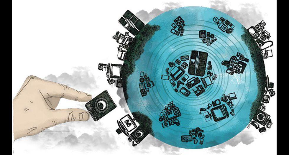 Además de la crisis climática, otro problema amenaza el mundo: los residuos tecnológicos.