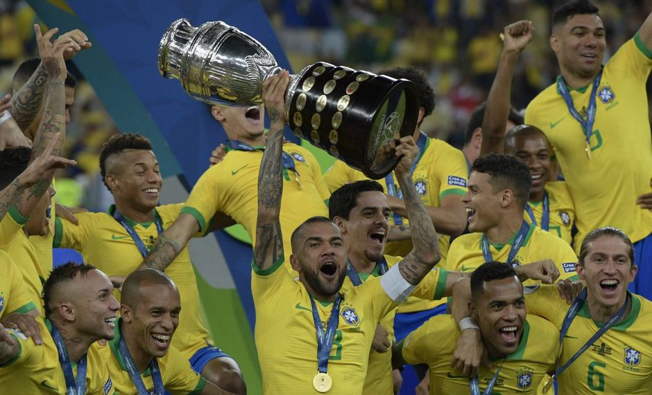 """La selección de Brasil demostró en la Copa América 2019 que """"la casa manda"""" cada vez que le toca organizar el máximo torneo de selecciones de la Conmebol. (Foto: AFP)"""
