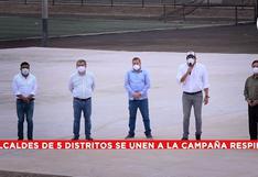 COVID-19: alcaldes recaudan fondos para construir megaplanta de oxígeno en la Costa Verde