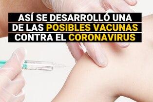 Así se desarrolló una de las posibles vacunas contra la COVID-19