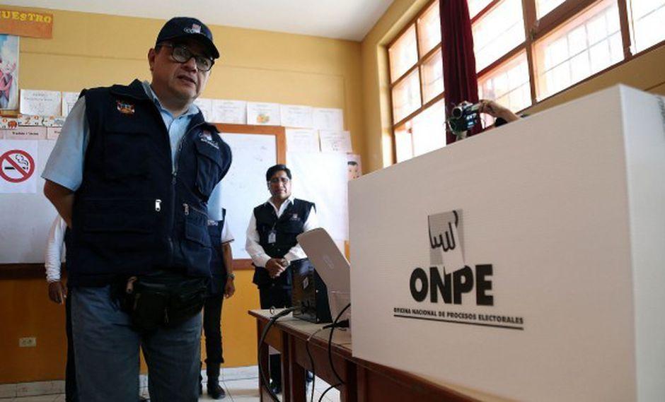 En el nuevo distrito de Roble, situado en la provincia de Tayacaja y que fue creado el 2015, votan 704 electores en tres mesas de sufragio (Foto: referencial)