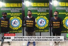 Banda delincuencial compra 50 balones de oxígeno con la modalidad del voucher falsificado