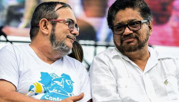 Timochenko e Iván Márquez han separado sus caminos en el proceso de paz en Colombia. Foto: Getty images, vía BBC Mundo. Foto: Getty images, vía BBC Mundo